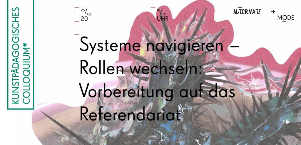 Kunstpädagogische Colloquium*