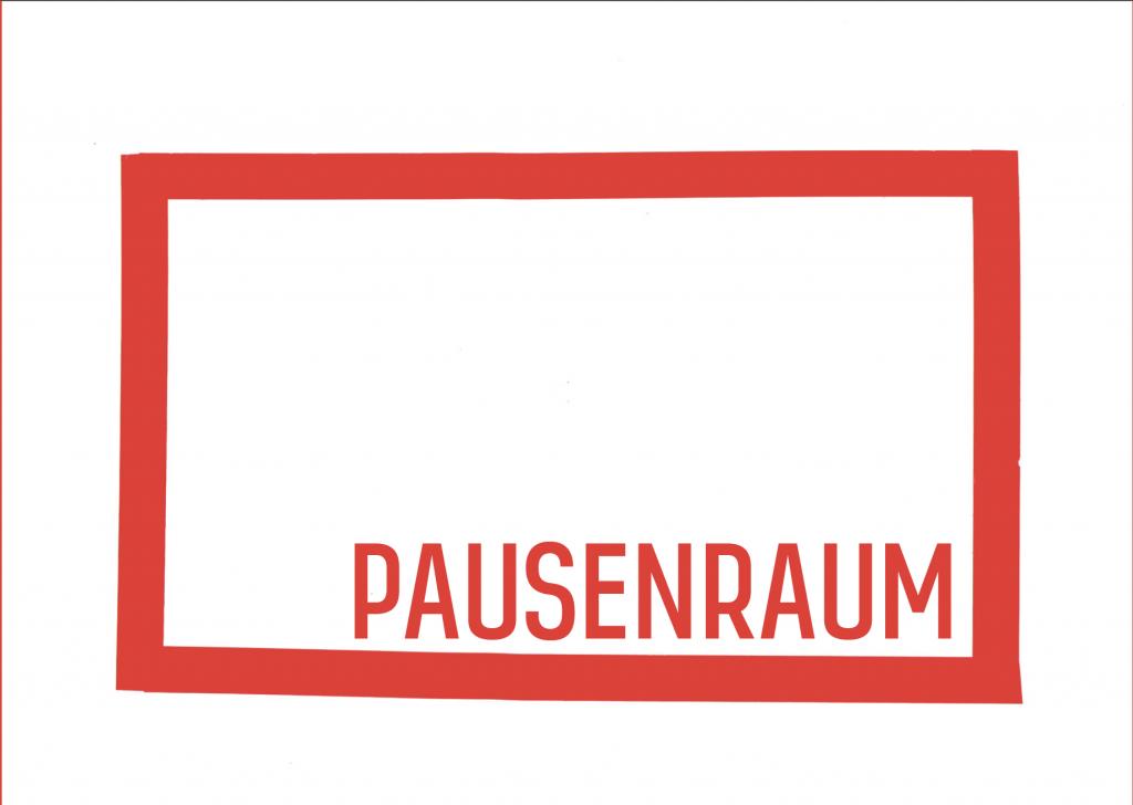Pausenraum im Badischen Kunstverein