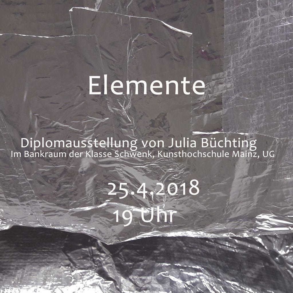 Diplomausstellung Julia Büchting