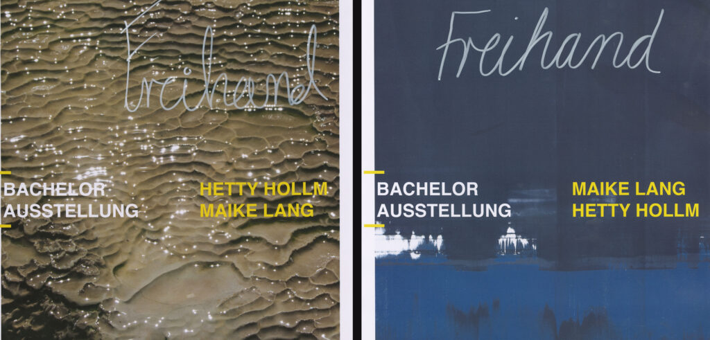 Bacheloraustellung Hetty Hollm &Maike Lang