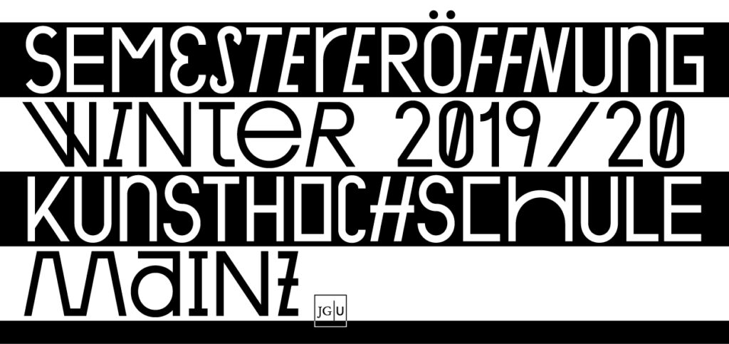 Semestereröffnung Winter 2019/20
