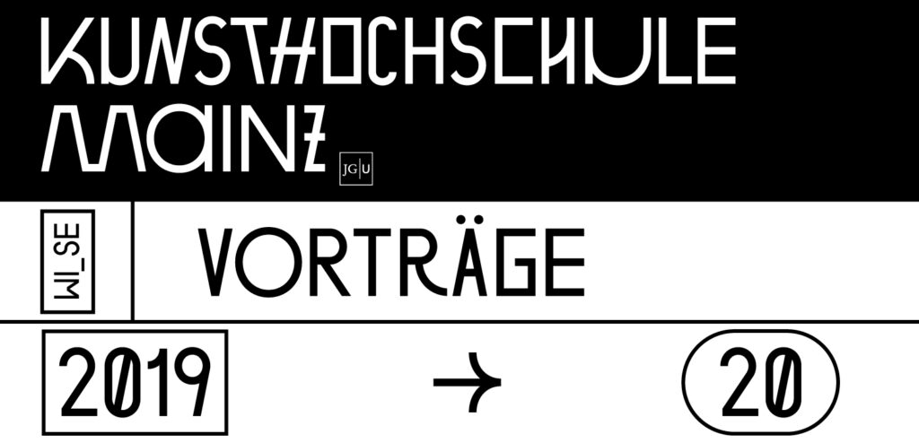Vorträge/Veranstaltung Wintersemester 2019 – 2020