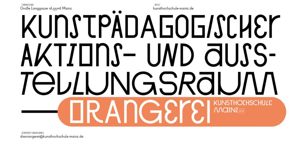 Orangerei Kunstpädagogischer Aktions- und Ausstellungsraum