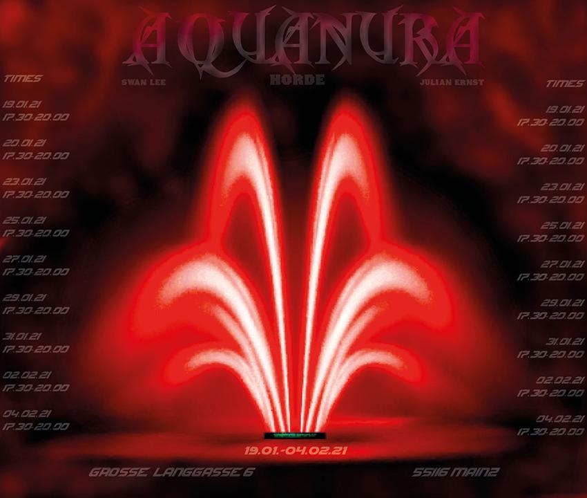 Aquanura, Swan Lee / Julian Ernst, apotheke