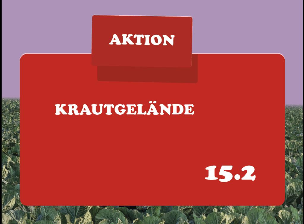 AKTION KRAUTGELÄNDE 15.2 Leonard Schlöder / Laslo Chenchanna, apotheke