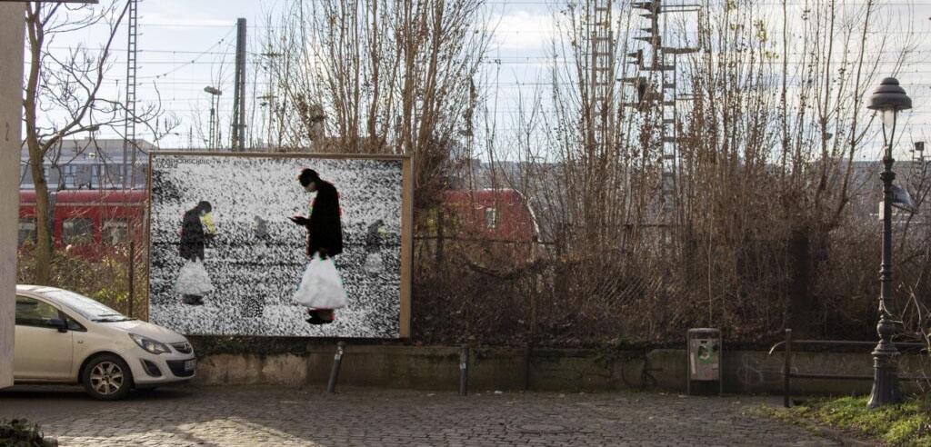stadtRUNDGANG, Ausstellung der Fotografieklasse von Prof.'in Judith Samen im Öffentlichen Raum