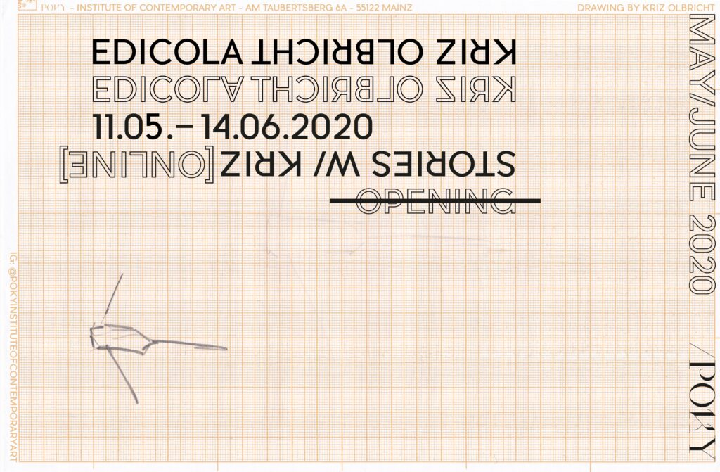 POKY – Institute of Contemporary Art, EDICOLA / Kriz Olbricht